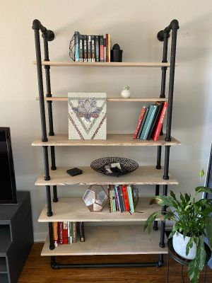 Pipe and fitting shelving.