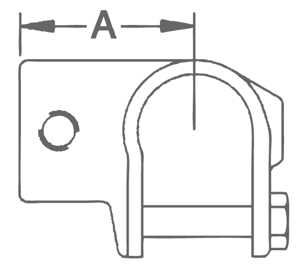 EF41G - Clamp-On Tee (EF41G) Technical Image